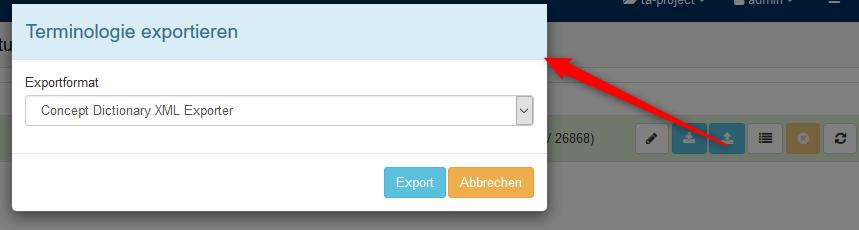exportTerminology