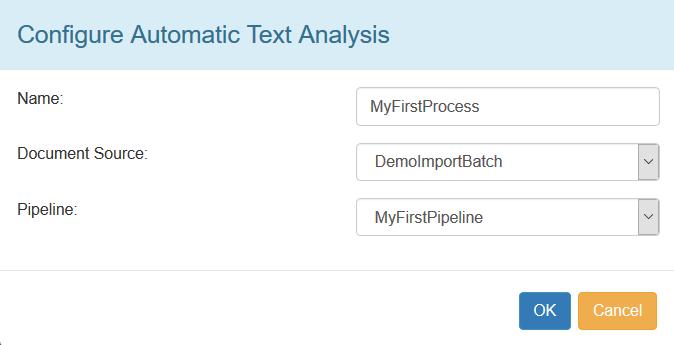 processConfigureAutomaticTextAnalysis